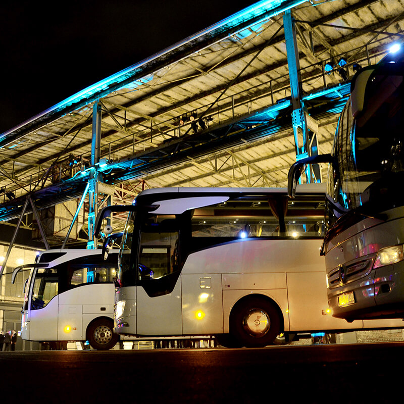 Bus logistics Köln